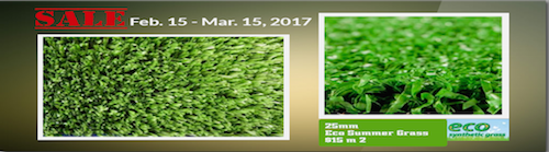 Artificial Grass Sale Promo Perth 2017